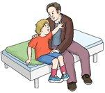 Sexuelle Gewalt an Kindern.