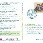 Fachtag 25 Jahre PETZE(n) – ECHT PRÄVENTIV! Freitag, 23. 3. 2018 | CAU Kiel | Olshausenstraße 75