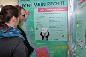 PETZE-Ausstellung ECHT MEIN RECHT! -Foto: Daniel Hoppmann