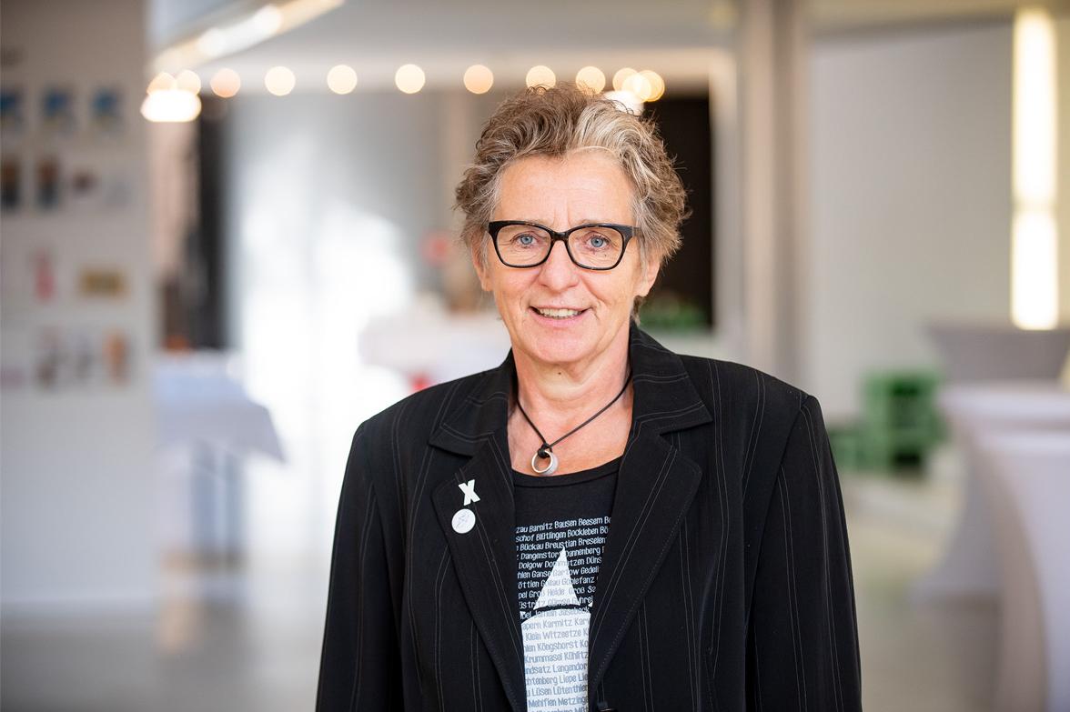 Ursula Schele, Geschäftsführung PETZE, Foto: Thomas Eisenkrätzer