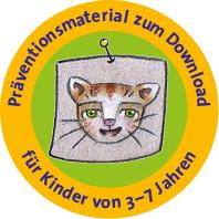 Präventionsmaterial zum Download für Kinder von 3-7 Jahren